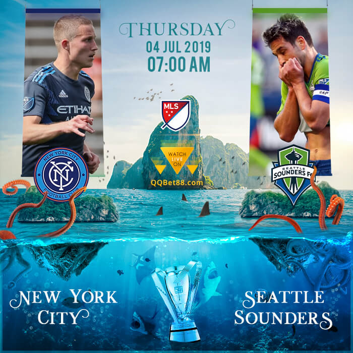 New York City VS Seattle Sounders