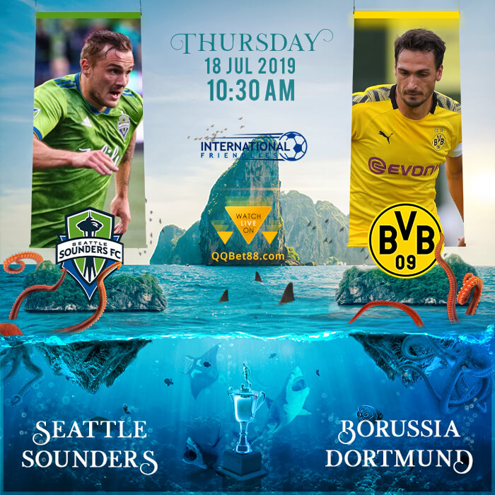 Seattle Sounders VS Borussia Dortmund