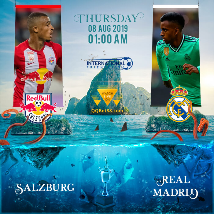 Salzburg VS Real Madrid