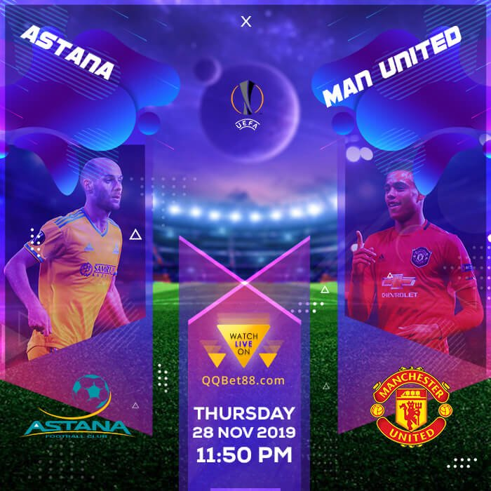 Astana VS Manchester United