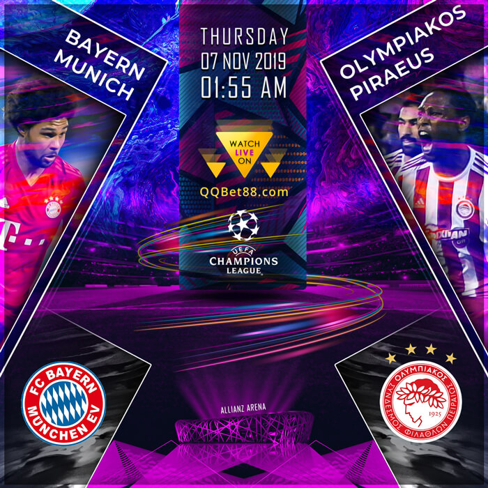 Bayern Munich VS Olympiakos Piraeus