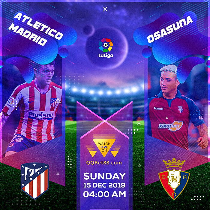 Atletico Madrid VS Osasuna