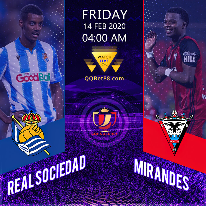 Real Sociedad VS Mirandés