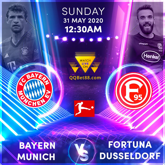 Bayern Munich VS Fortuna Dusseldorf