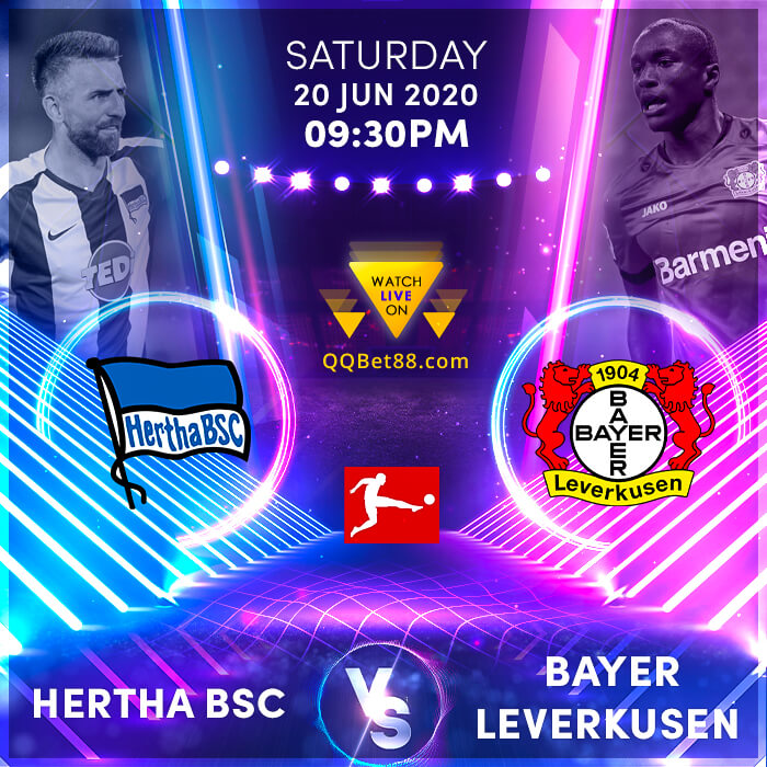 Hertha BSC VS Bayer Leverkusen