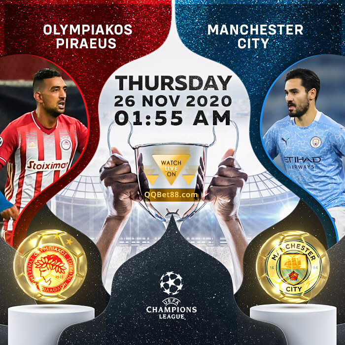 Olympiakos Piraeus VS Manchester City