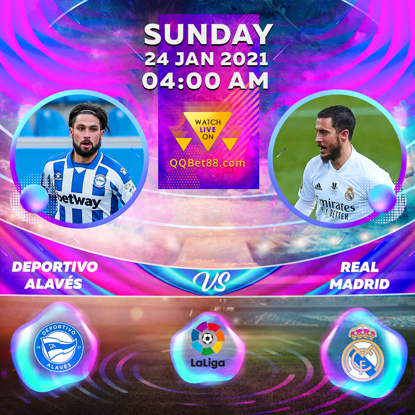 Deportivo Alavés VS Real Madrid