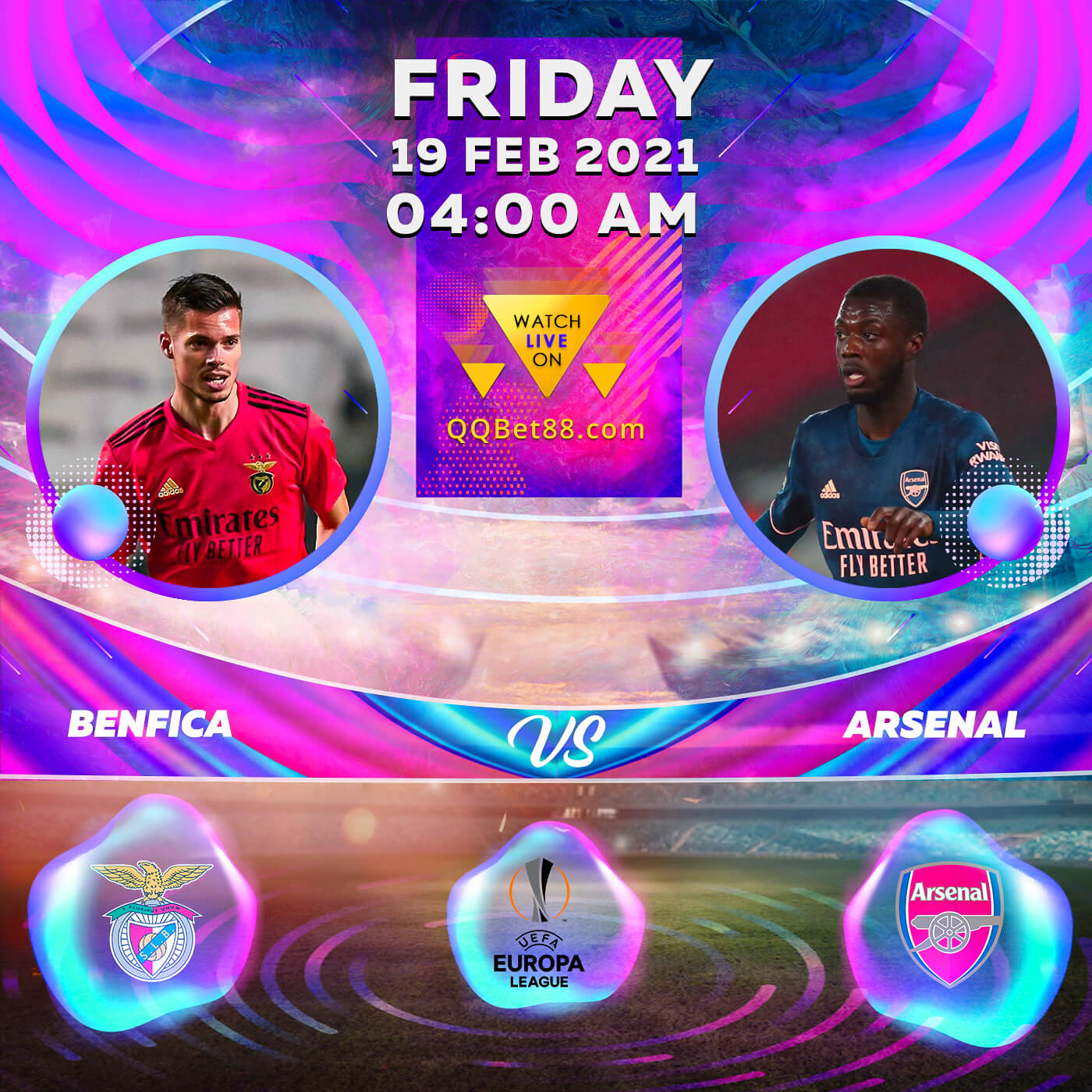 Benfica VS Arsenal