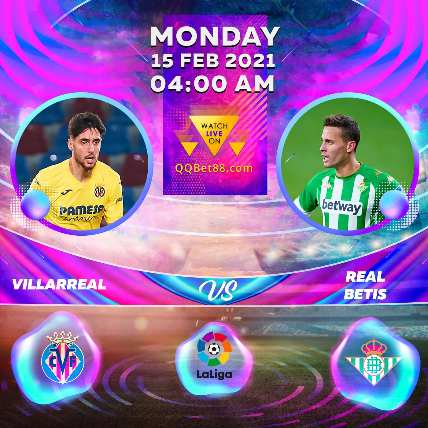 Villarreal VS Real Betis