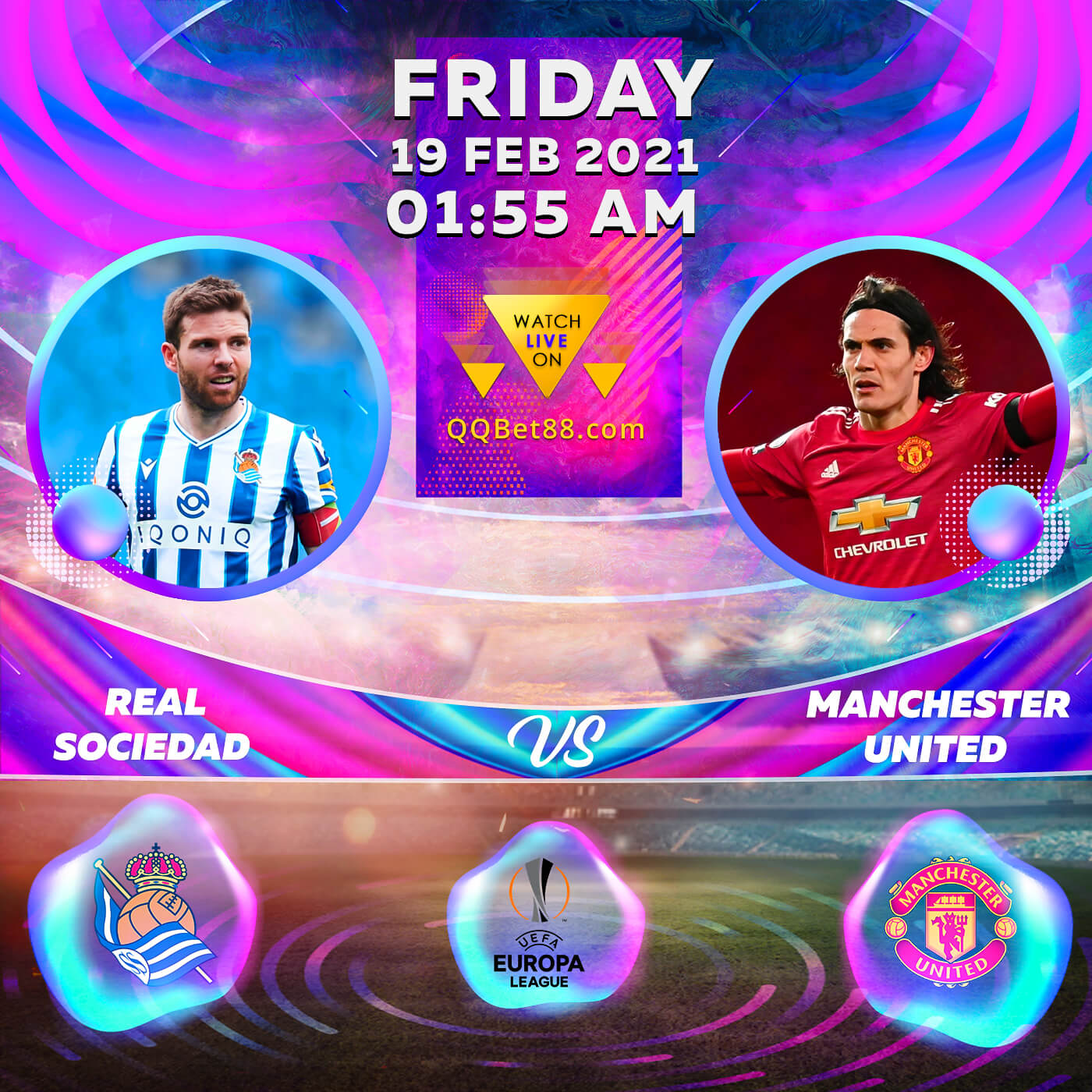 Real Sociedad VS Manchester United