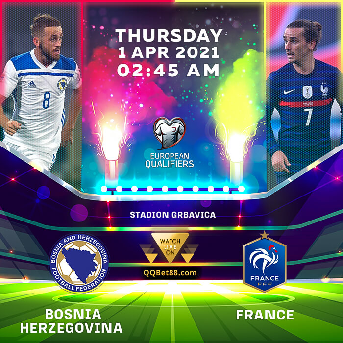 Bosnia-Herzegovina VS France