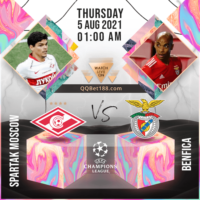 Spartak Moscow VS Benfica